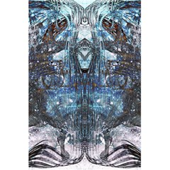 Angel Wings Blue Grunge Texture 5 5  X 8 5  Notebooks by CrypticFragmentsDesign