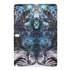 Angel Wings Blue Grunge Texture Samsung Galaxy Tab Pro 10 1 Hardshell Case by CrypticFragmentsDesign