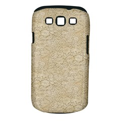 Old Floral Crochet Lace Pattern Beige Bleached Samsung Galaxy S Iii Classic Hardshell Case (pc+silicone) by EDDArt