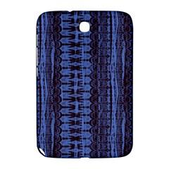 Wrinkly Batik Pattern   Blue Black Samsung Galaxy Note 8 0 N5100 Hardshell Case  by EDDArt
