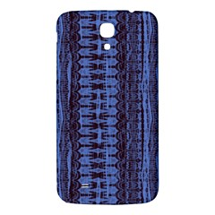 Wrinkly Batik Pattern   Blue Black Samsung Galaxy Mega I9200 Hardshell Back Case by EDDArt