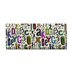 Colorful Retro Style Letters Numbers Stars Cosmetic Storage Cases by EDDArt