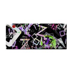Chaos With Letters Black Multicolored Cosmetic Storage Cases by EDDArt