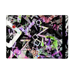 Chaos With Letters Black Multicolored Apple Ipad Mini Flip Case by EDDArt