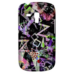 Chaos With Letters Black Multicolored Galaxy S3 Mini by EDDArt
