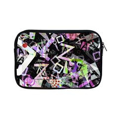 Chaos With Letters Black Multicolored Apple Ipad Mini Zipper Cases by EDDArt