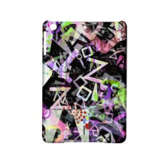Chaos With Letters Black Multicolored Ipad Mini 2 Hardshell Cases by EDDArt