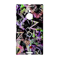 Chaos With Letters Black Multicolored Nokia Lumia 1520 by EDDArt