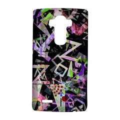 Chaos With Letters Black Multicolored Lg G4 Hardshell Case by EDDArt