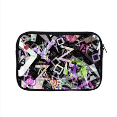 Chaos With Letters Black Multicolored Apple Macbook Pro 15  Zipper Case by EDDArt