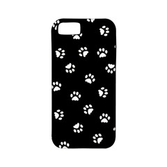 Footprints Cat White Black Apple Iphone 5 Classic Hardshell Case (pc+silicone) by EDDArt