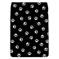 Footprints Cat White Black Flap Covers (l)  by EDDArt