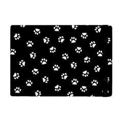 Footprints Cat White Black Ipad Mini 2 Flip Cases by EDDArt