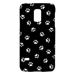 Footprints Cat White Black Galaxy S5 Mini by EDDArt
