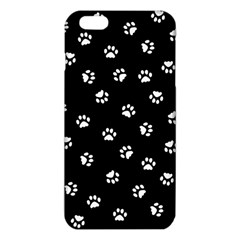 Footprints Cat White Black Iphone 6 Plus/6s Plus Tpu Case by EDDArt