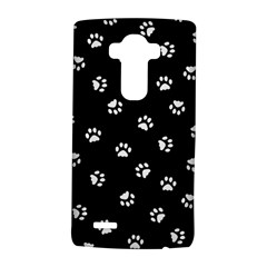 Footprints Cat White Black Lg G4 Hardshell Case by EDDArt