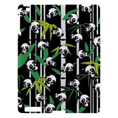 Satisfied And Happy Panda Babies On Bamboo Apple Ipad 3/4 Hardshell Case by EDDArt