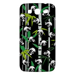 Satisfied And Happy Panda Babies On Bamboo Samsung Galaxy Mega 5 8 I9152 Hardshell Case  by EDDArt