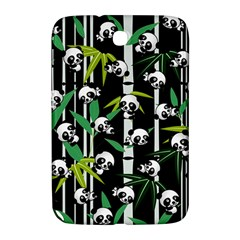 Satisfied And Happy Panda Babies On Bamboo Samsung Galaxy Note 8 0 N5100 Hardshell Case  by EDDArt