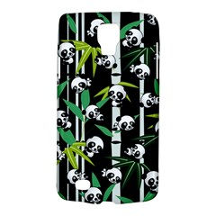 Satisfied And Happy Panda Babies On Bamboo Galaxy S4 Active by EDDArt