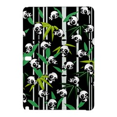 Satisfied And Happy Panda Babies On Bamboo Samsung Galaxy Tab Pro 10 1 Hardshell Case by EDDArt