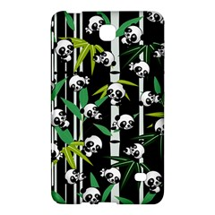 Satisfied And Happy Panda Babies On Bamboo Samsung Galaxy Tab 4 (8 ) Hardshell Case  by EDDArt