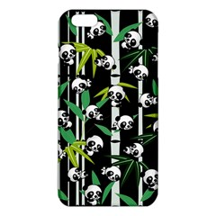 Satisfied And Happy Panda Babies On Bamboo Iphone 6 Plus/6s Plus Tpu Case by EDDArt