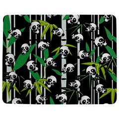 Satisfied And Happy Panda Babies On Bamboo Jigsaw Puzzle Photo Stand (rectangular) by EDDArt