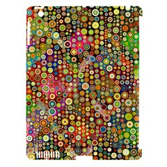 Multicolored Retro Spots Polka Dots Pattern Apple Ipad 3/4 Hardshell Case (compatible With Smart Cover) by EDDArt