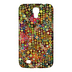Multicolored Retro Spots Polka Dots Pattern Samsung Galaxy Mega 6 3  I9200 Hardshell Case by EDDArt
