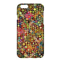 Multicolored Retro Spots Polka Dots Pattern Apple Iphone 6 Plus/6s Plus Hardshell Case by EDDArt