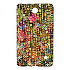 Multicolored Retro Spots Polka Dots Pattern Samsung Galaxy Tab 4 (7 ) Hardshell Case  by EDDArt