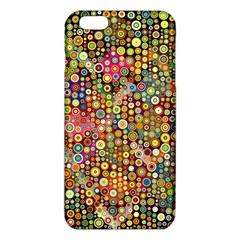 Multicolored Retro Spots Polka Dots Pattern Iphone 6 Plus/6s Plus Tpu Case by EDDArt