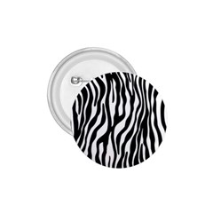 Zebra Stripes Pattern Traditional Colors Black White 1 75  Buttons by EDDArt