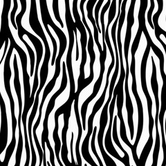 Zebra Stripes Pattern Traditional Colors Black White Canvas 12  X 12   by EDDArt