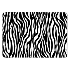 Zebra Stripes Pattern Traditional Colors Black White Samsung Galaxy Tab 8 9  P7300 Flip Case by EDDArt