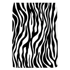 Zebra Stripes Pattern Traditional Colors Black White Flap Covers (s)  by EDDArt
