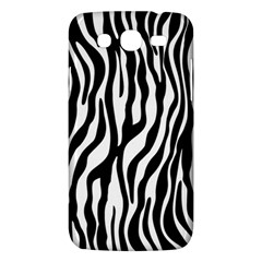 Zebra Stripes Pattern Traditional Colors Black White Samsung Galaxy Mega 5 8 I9152 Hardshell Case  by EDDArt