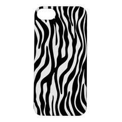 Zebra Stripes Pattern Traditional Colors Black White Apple Iphone 5s/ Se Hardshell Case by EDDArt