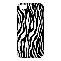 Zebra Stripes Pattern Traditional Colors Black White Apple Iphone 5c Hardshell Case by EDDArt