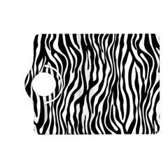 Zebra Stripes Pattern Traditional Colors Black White Kindle Fire Hd (2013) Flip 360 Case by EDDArt