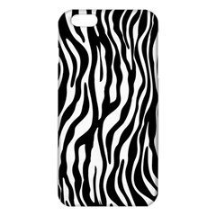 Zebra Stripes Pattern Traditional Colors Black White Iphone 6 Plus/6s Plus Tpu Case by EDDArt