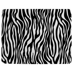 Zebra Stripes Pattern Traditional Colors Black White Jigsaw Puzzle Photo Stand (rectangular) by EDDArt