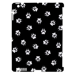 Footprints Dog White Black Apple Ipad 3/4 Hardshell Case (compatible With Smart Cover) by EDDArt