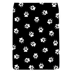 Footprints Dog White Black Flap Covers (s)  by EDDArt