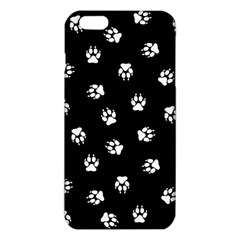 Footprints Dog White Black Iphone 6 Plus/6s Plus Tpu Case by EDDArt