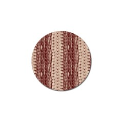 Wrinkly Batik Pattern Brown Beige Golf Ball Marker (4 Pack) by EDDArt