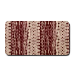 Wrinkly Batik Pattern Brown Beige Medium Bar Mats by EDDArt