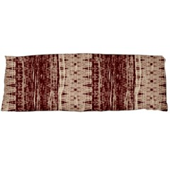 Wrinkly Batik Pattern Brown Beige Body Pillow Case (dakimakura) by EDDArt