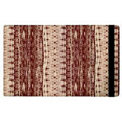 Wrinkly Batik Pattern Brown Beige Apple Ipad 3/4 Flip Case by EDDArt
